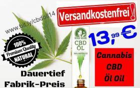 Cannabis CBD ÖL OIL 14€ frei Haus Knüller-Preis