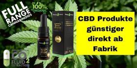 Cannabis CBD Premium Black E-Liquid  Flavor Menthol Blue