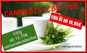 Cannabis CBD Tee Öle zu Tiefstpreisen aus Deutschland