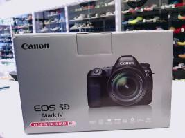 Canon EOS-5D Mark IV DSLR Camera Kit with Canon EF 24-70mm F4L IS