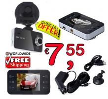 Car DVR DashCam Night Vision Recorder 8€ frei Haus