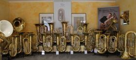 Foto 2 Cervený Arion Goldmessing - Tuba CBB 783-4R mit Koffer