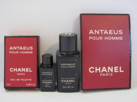 Chanel Antaeus, Luxus Pour Homme Flacon & Parfum Phiolen
