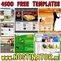 Cheap Powerful Web Hosting – 4500 free templates
