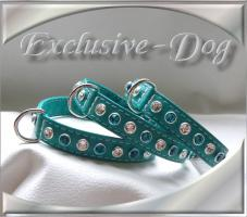 Chihuahua Welpenhalsband Strass mini Halsband by EXCLUSIVE-DOG