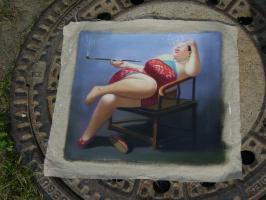 Foto 6 China Malerei Surrealismus  Ölgemälde