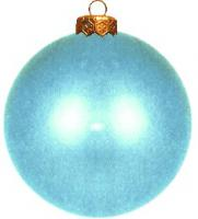 Weihnachtskugeln türkis matt