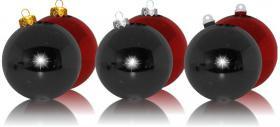 Weihnachtskugeln aus Kunststoff