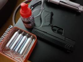 Co2 Pistole Federdruck Zielscheibe