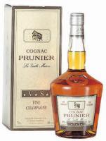 Cognac Prunier Fine Champagne Vieille Maison VS in Geschenkverpackung,