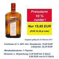 Cointreau 0,7l 40% Vol. französischer Orangenlikör