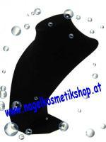 Collierbüste 30 cm Schwarz oder Rot 9,90€