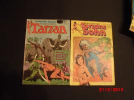 Foto 3 Comic Nostalgie Scheriff Klassiker Tom Berry Tarzan Sohn 1970 1980