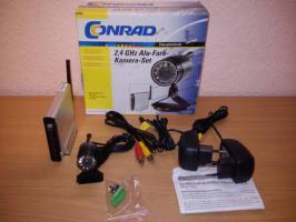 Foto 2 Conrad 2,4 GHz Alu-Farb-Kamera-Set 8103J