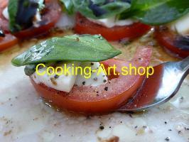 Cooking-Art.Shop: ''BIO Koch-Kunst - das Auge isst mit''