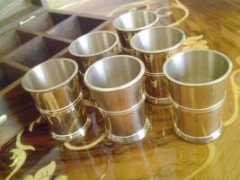 Copper Schußglas Satz (6 Stück)