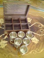 Foto 2 Copper Schußglas Satz (6 Stück)