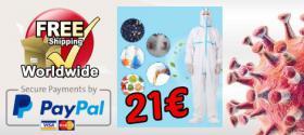 Corona Viren Schutz Overall 21€. versandkostenfrei
