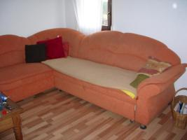 Couchgarnitur mit Sessel