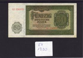 DDR 1948 BANKNOTE 50M