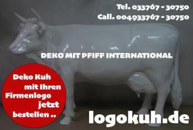 Foto 5 DEKO HOLSTEIN FRIESIAN KUH LEBENSGROSS UNSER HAUSEIGENES MODELL ...