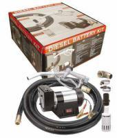 DIESELPUMPE Batterie Set 12VDC, 0,3kW! 50L/min