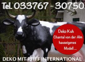 Foto 3 DU ENTSCHEIDEST AM ENDE WELCHENDEKO KUH LEBENSGROSS MODELL ZU DIR PASST  …. www.haeigemo.de  anklicken ...