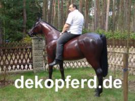 DU hasst och kein Deko Pferd in deinen Garten stehen… ja dann ...