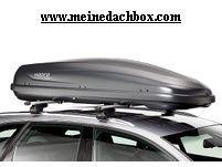 Dachbox Hapro Traxer 8.6 anthracite , der Jumbo mit 530 Litern Volumen