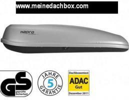 Foto 2 Dachbox, Hapro , Probox 460 , ADAC Test-Urteil: GUT! 390 Liter