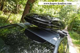 Hapro Traxer 8.6 Anthracite (530 Liter) Test AutoMotorsport GUT Dachbo