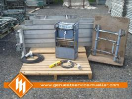 Dachdeckeraufzug – Komplett Geda Combi 200 - Sonderposten