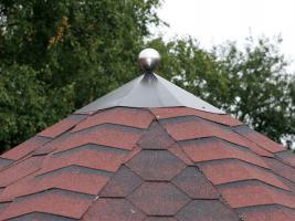 Foto 8 Dachhauben, Firsthauben, Firstabdeckung, Dachhaube für Gartenpavillon, s in 4-Eck 6-Eck 8-Eck Ausführung, ...