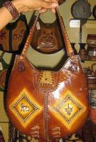 Damen Handtasche aus weichem Leder