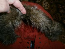 Damen Jacke Winterjacke mit Kapuze NEU apricotorange Gr. 46