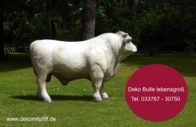 Foto 6 Das neue Deko Kalb für eure Kinder und den Deko Bullen für Ihren Gatten ...