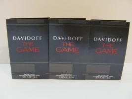Davidoff The Game, Luxus Parfum Phiolen