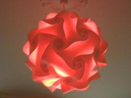 Deckenlampe Hängelampe H/B 55cm inkl.LED Farbwechsler m.IR Fernbedienung 30A/XXL Hängelampe Deckenlampe H/B 55cm inkl.LED Farbwechsler m.IR Fernbedienung 30A/XXL