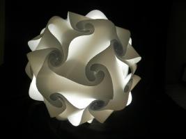 Foto 3 Deckenlampe Hängelampe H/B 55cm inkl.LED Farbwechsler m.IR Fernbedienung 30A/XXL Hängelampe Deckenlampe H/B 55cm inkl.LED Farbwechsler m.IR Fernbedienung 30A/XXL