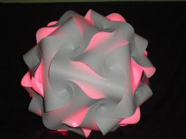 Foto 6 Deckenlampe Hängelampe H/B 55cm inkl.LED Farbwechsler m.IR Fernbedienung 30A/XXL Hängelampe Deckenlampe H/B 55cm inkl.LED Farbwechsler m.IR Fernbedienung 30A/XXL