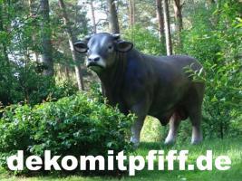 Deko Bulle für Deine Deko kuh die schon in deinen Garten steht ...