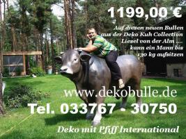 Deko Bulle lebensgross als Blickfang für Ihre Gäste  .... www.dekomitpfiff.de anklicken