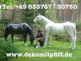 Foto 4 Deko Hirsch in Deiner Wunsch Ral. Farbe ...