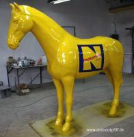 Deko Horse lebensgross