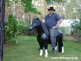 Foto 2 Deko Horse lebensgross