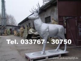 Foto 7 Deko Kuh oder Deko Pferd oder Deko Hirsch oder Krippenfiguren oder Deko Elch