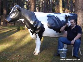 Deko Kuh als Melkkuh für Deine Messeveranstaltung ...