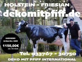 Deko Kuh kaufen bei www.dekomitpfiff.de … oder Deko Pferd oder Deko Stier ...