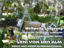 Foto 4 Deko Kuh kaufen bei www.dekomitpfiff.de … oder Deko Pferd oder Deko Stier ...