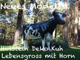 Foto 2 Deko Kuh lebensgross Pustertaler Art ...